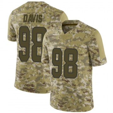 Youth Nike Miami Dolphins Raekwon Davis Camo 2018 Salute to Service Jersey - Limited