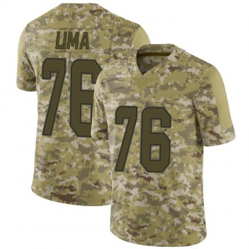 Youth Nike Miami Dolphins Ray Lima Camo 2018 Salute to Service Jersey - Limited
