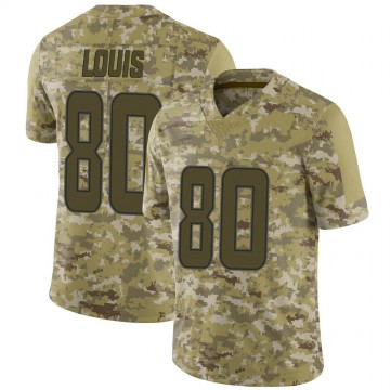 Youth Nike Miami Dolphins Ricardo Louis Camo 2018 Salute to Service Jersey - Limited