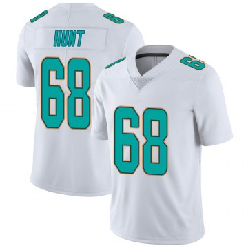 Youth Nike Miami Dolphins Robert Hunt White limited Vapor Untouchable Jersey -