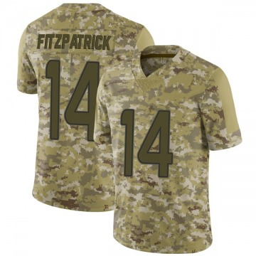 Youth Nike Miami Dolphins Ryan Fitzpatrick Camo 2018 Salute to Service Jersey - Limited