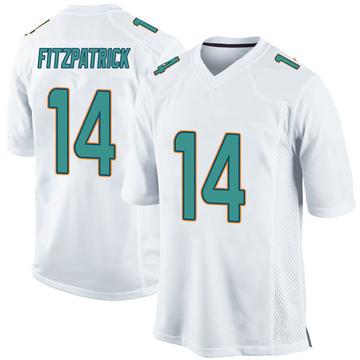 Youth Nike Miami Dolphins Ryan Fitzpatrick White Jersey - Game