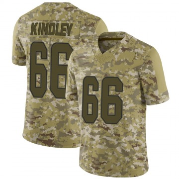 Youth Nike Miami Dolphins Solomon Kindley Camo 2018 Salute to Service Jersey - Limited