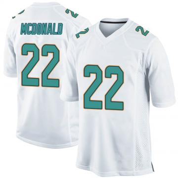 Youth Nike Miami Dolphins T.J. McDonald White Jersey - Game