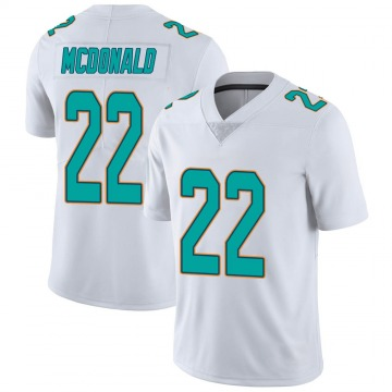 Youth Nike Miami Dolphins T.J. McDonald White limited Vapor Untouchable Jersey -