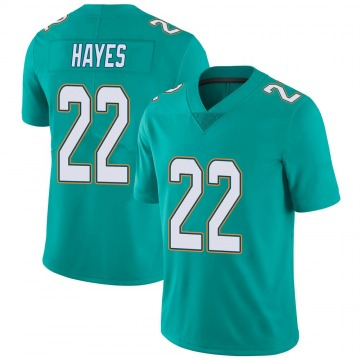 Youth Nike Miami Dolphins Tae Hayes Aqua Team Color Vapor Untouchable Jersey - Limited