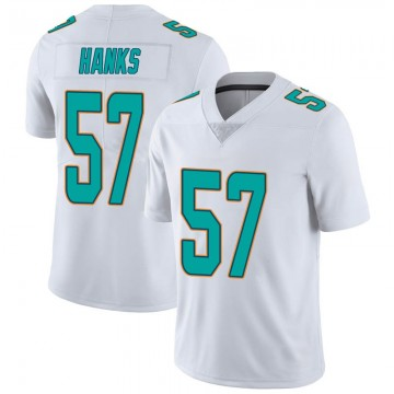 Youth Nike Miami Dolphins Terrill Hanks White limited Vapor Untouchable Jersey -