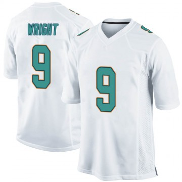 Youth Nike Miami Dolphins Terry Wright White Jersey - Game