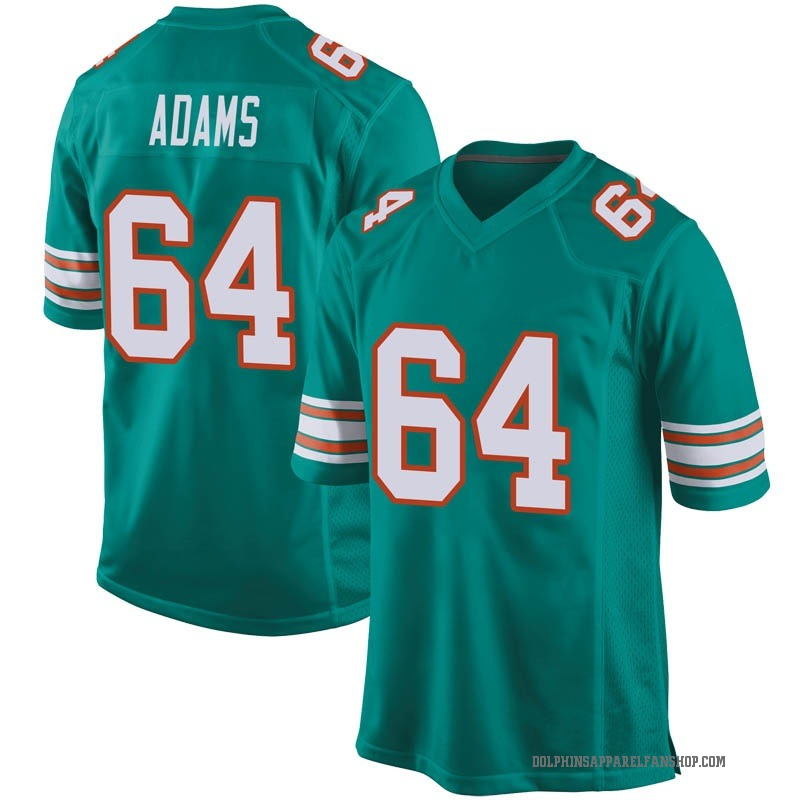 timeless design cd093 85caf Youth Nike Miami Dolphins Tony Adams Aqua Alternate Jersey - Game