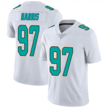 Youth Nike Miami Dolphins Trent Harris White limited Vapor Untouchable Jersey -