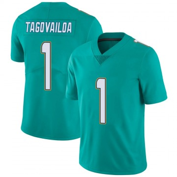 Youth Nike Miami Dolphins Tua Tagovailoa Aqua Team Color Vapor Untouchable Jersey - Limited
