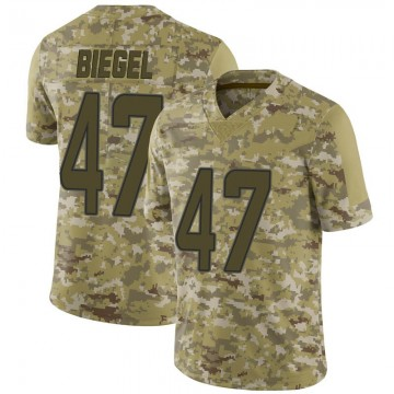 Youth Nike Miami Dolphins Vince Biegel Camo 2018 Salute to Service Jersey - Limited