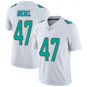 Youth Nike Miami Dolphins Vince Biegel White limited Vapor Untouchable Jersey -