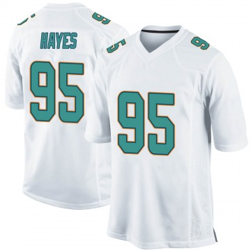 Youth Nike Miami Dolphins William Hayes White Jersey - Game
