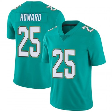 Youth Nike Miami Dolphins Xavien Howard Aqua Team Color Vapor Untouchable Jersey - Limited