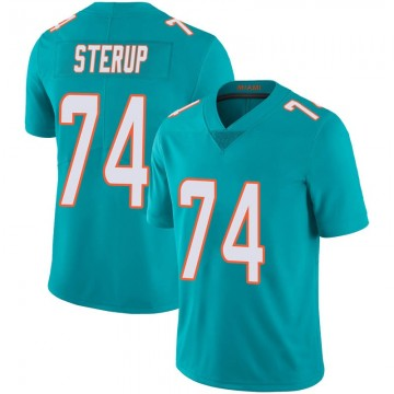 Youth Nike Miami Dolphins Zach Sterup Aqua Team Color 100th Vapor Untouchable Jersey - Limited
